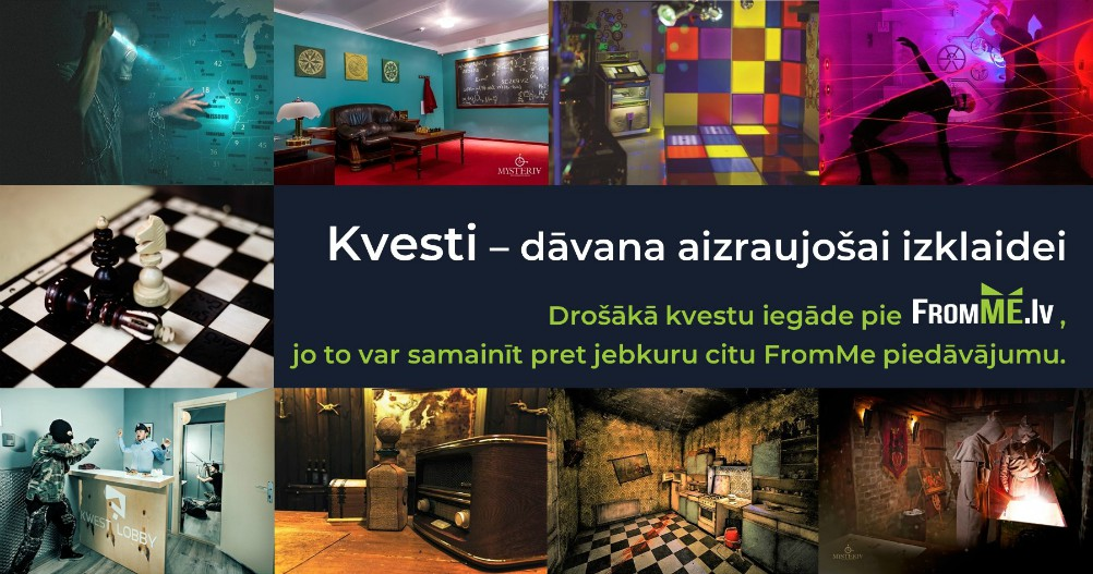 escape room kvesti